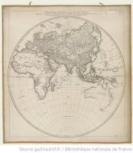 Hémisphère oriental - 1761