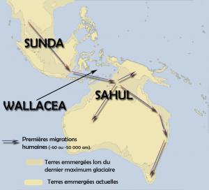 Migrations Sunda-Sahul-Wallacea